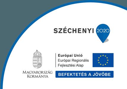 Széchenyi 2020 program keretében nyert támogatás